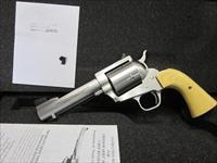 "Freedom Arms Model 83 Premier .475 Linebaugh 4 3/4"" NIB with Ivory grips"