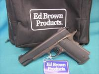 Ed Brown Special Forces Battle Bronze .45acp New in pouch