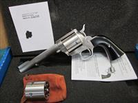 "Freedom Arms Model 83 Premier DUAL Cylinder .454Casull/.45LC. 6"""" New in box"