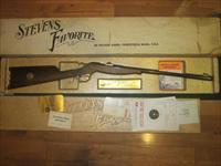 Stevens Favorite Model 71 Commemorative