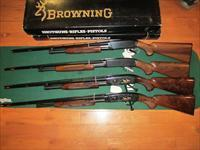 Browning M-42 and M-12 4 Gun Set