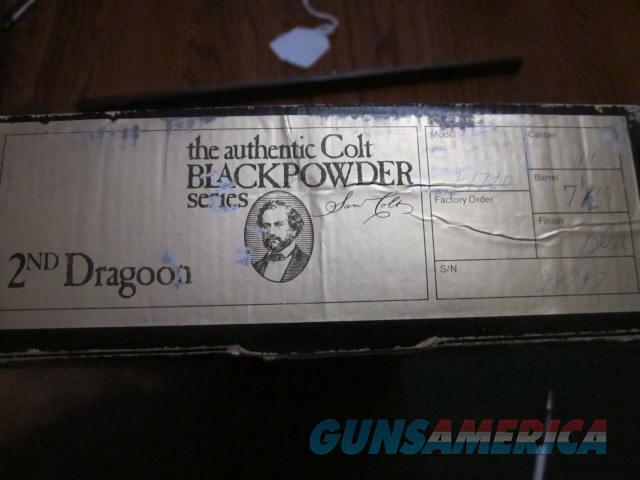 Colt 2ND Dragoon Black Powder