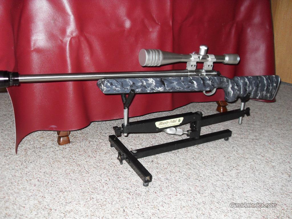 custom built 22 lr benchrest rifle for sale