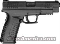 Springfield XDM Factor Semi-Auto Pistol XDM94545BHC, 45 ACP, 4.5 in, Polymer Grip, Black Finish, 13 Rd
