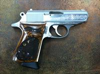 Walther PPK .380  Engraved