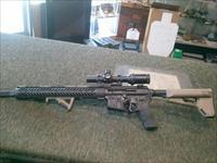 custom built AR15 (3 gun) rifle