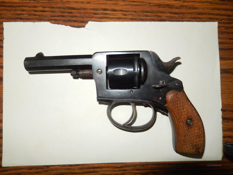 32 S&W caliber blank firing starter pistol