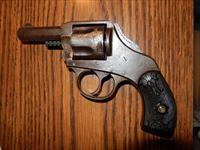 .38 S&W caliber Safety Hammer/Double Action antique revolver