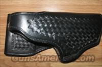 Gould & Goodrich leather basket weave duty holster
