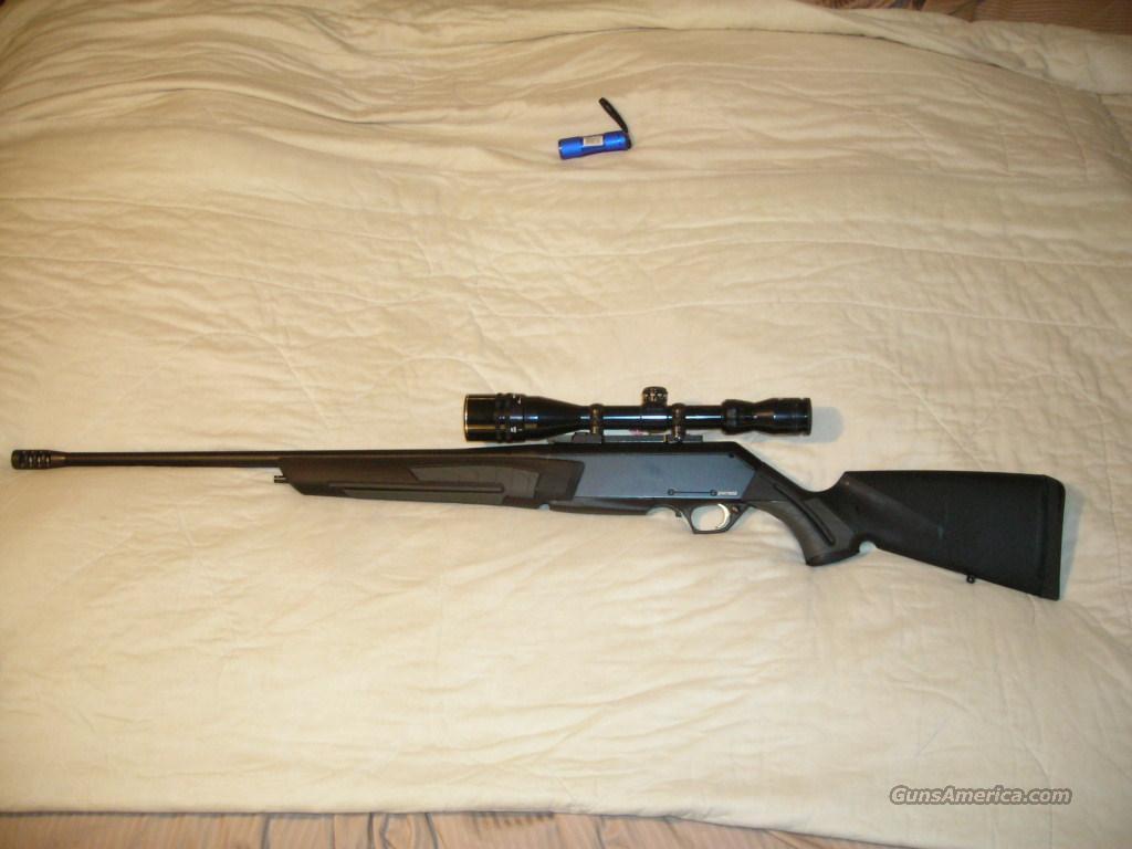 Browning Shorttrac Stalker 243 w/ Barry Graham muzzle brake & 4-16x42 BDC