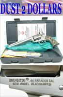 Custom Bowen Ruger Super Blackhawk Hunter 44 Paradox NIB