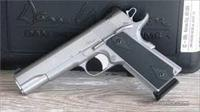 CZ Dan Wesson Valor Stainless 1911 Semi Automatic Pistol 45 ACP Night Sights 01986