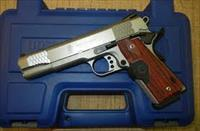 Smith & Wesson 108495 1911 CT Enhanced Pistol .45 ACP 5in 8rd Stainless Crimson Trace