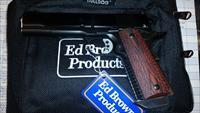 Ed Brown Classic Custom All Blue Skip Line Checkering .45ACP