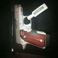 Kimber Micro9 Stainless Rosewood Laser Grip 9mm