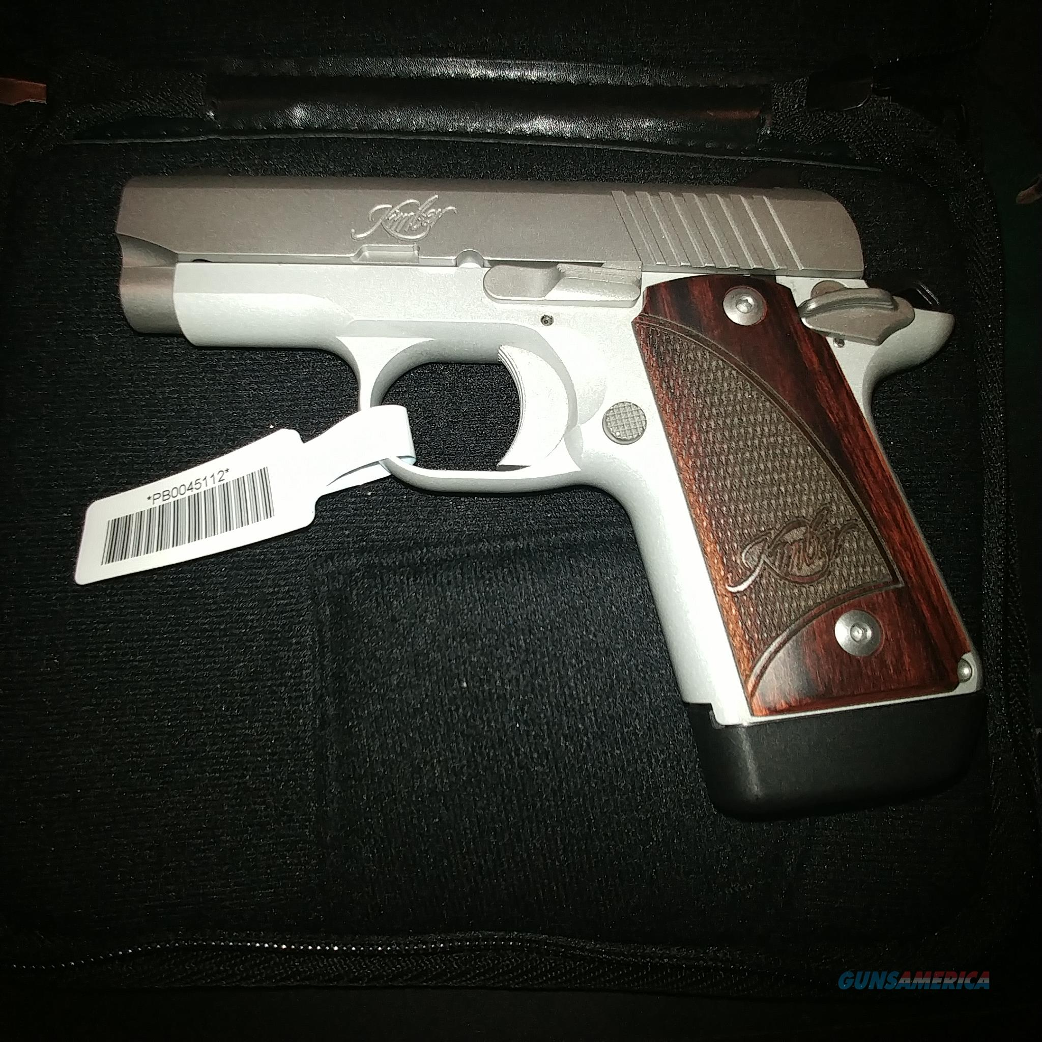 Kimber 3300193 Micro 9 Stainless Dn Pistol: Kimber Micro 9 Stainless Rosewood 9mm For Sale