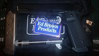 Ed Brown Threaded Barrel Special Forces 3 Light Rail TFS 2 Barrel Set .45ACP