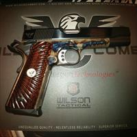 Wilson Combat Classic Supergrade Color Case Hardened Two Tone .45