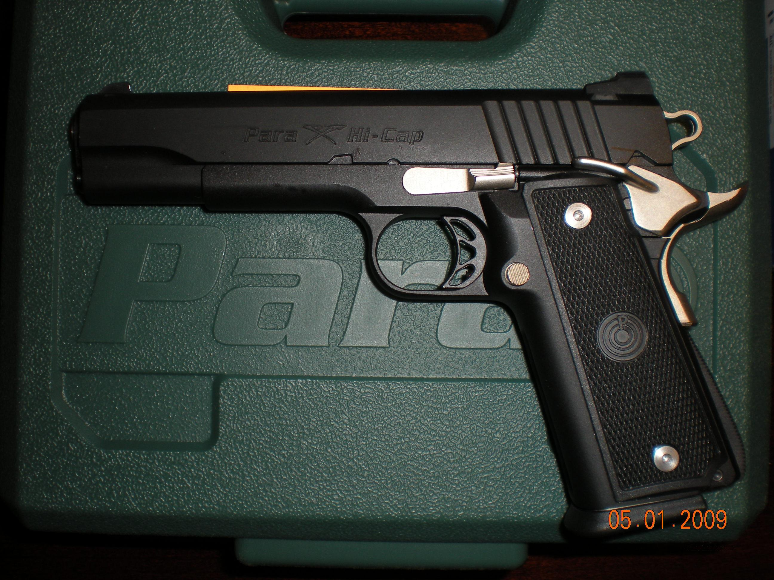 Para USA 5 inch 1911 double stack hi cap Big Ha... for sale