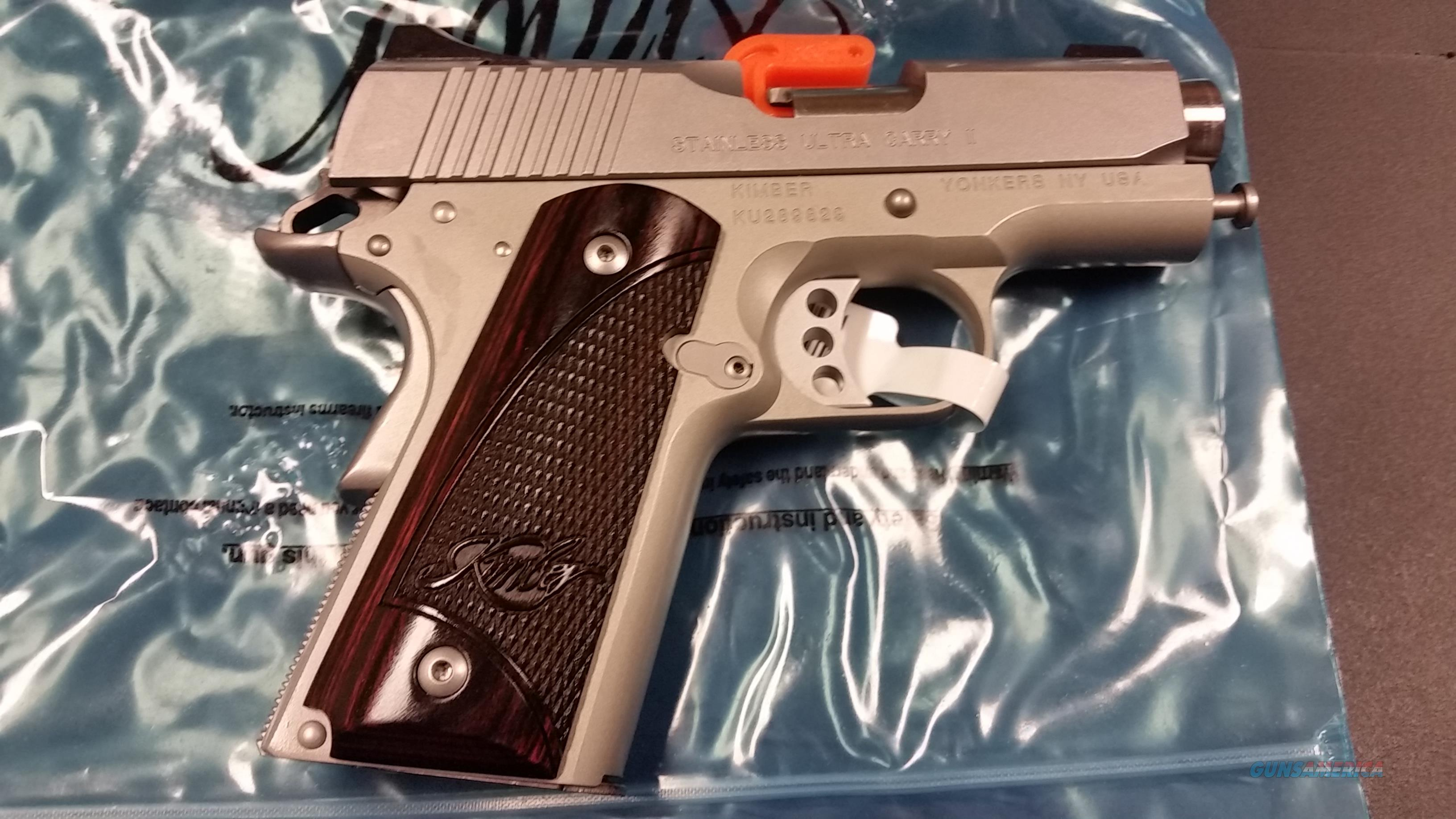 Kimber Stainless Ultra Carry II 3 inch  45 acp