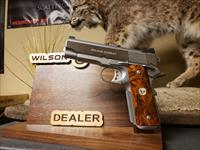 Wilson Combat Tactical Supergrade Professional .45 Stainless