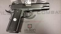 Wilson Combat Tactical Supergrade .45 Black/Gray