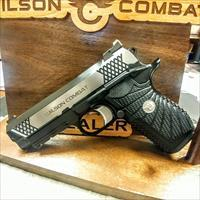 Wilson Combat EDC X9 Lightrail Polished Sides Upgrages 6 mags 9mm