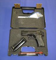 CZ 75 COMPACT 9MM PISTOL W/RAIL AND STEEL FRAME