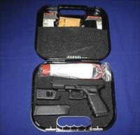 CLEARANCE PRICED!   GLOCK 23 COMPACT 40 CAL PISTOL W/AMERIGLOW FIBER OPTIC SIGHT TALO DISTR. EDITION