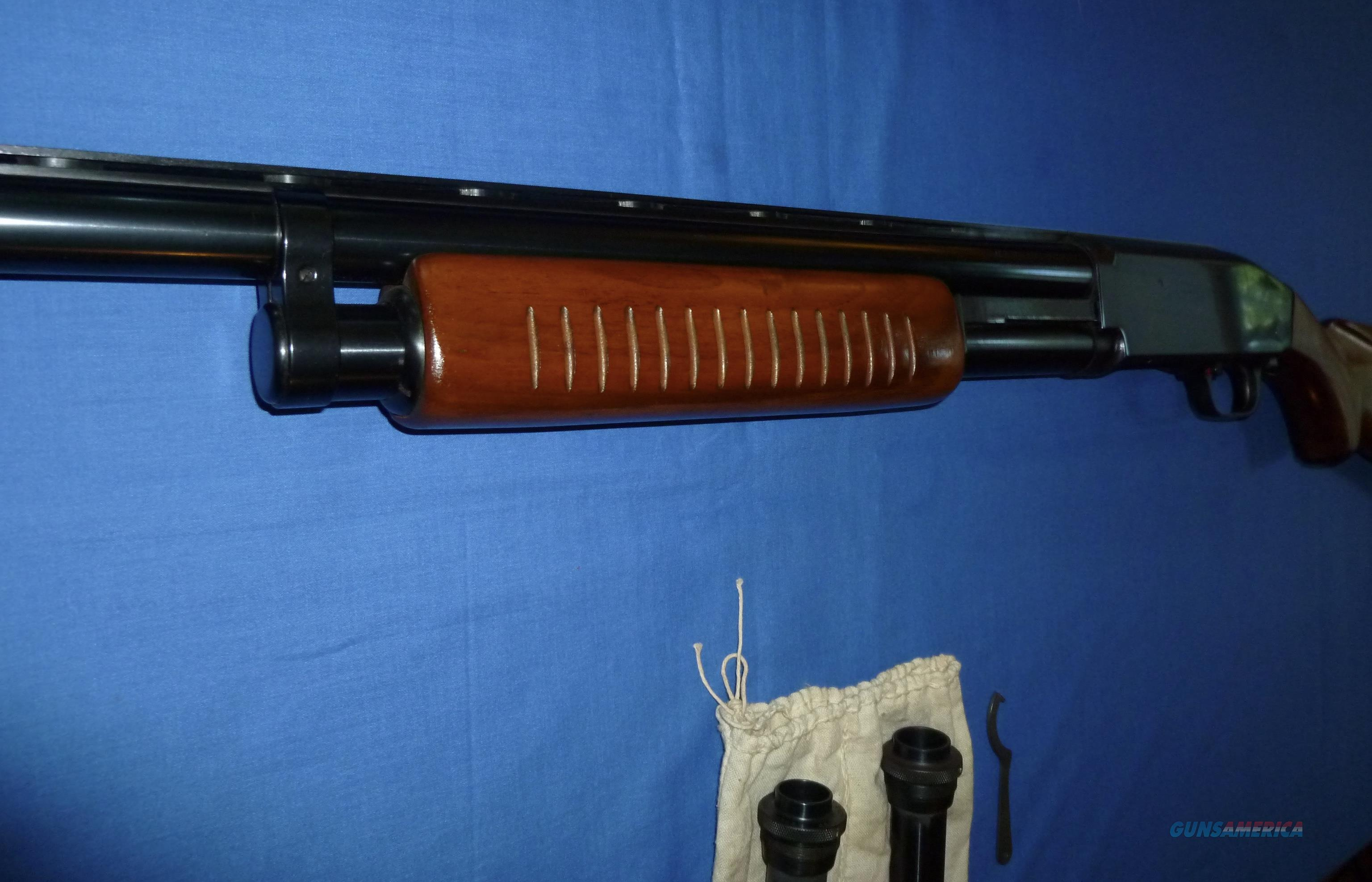 J.C. HIGGINS/HIGH STANDARD MODEL 20 12 GAUGE PUMP SHOTGUN on