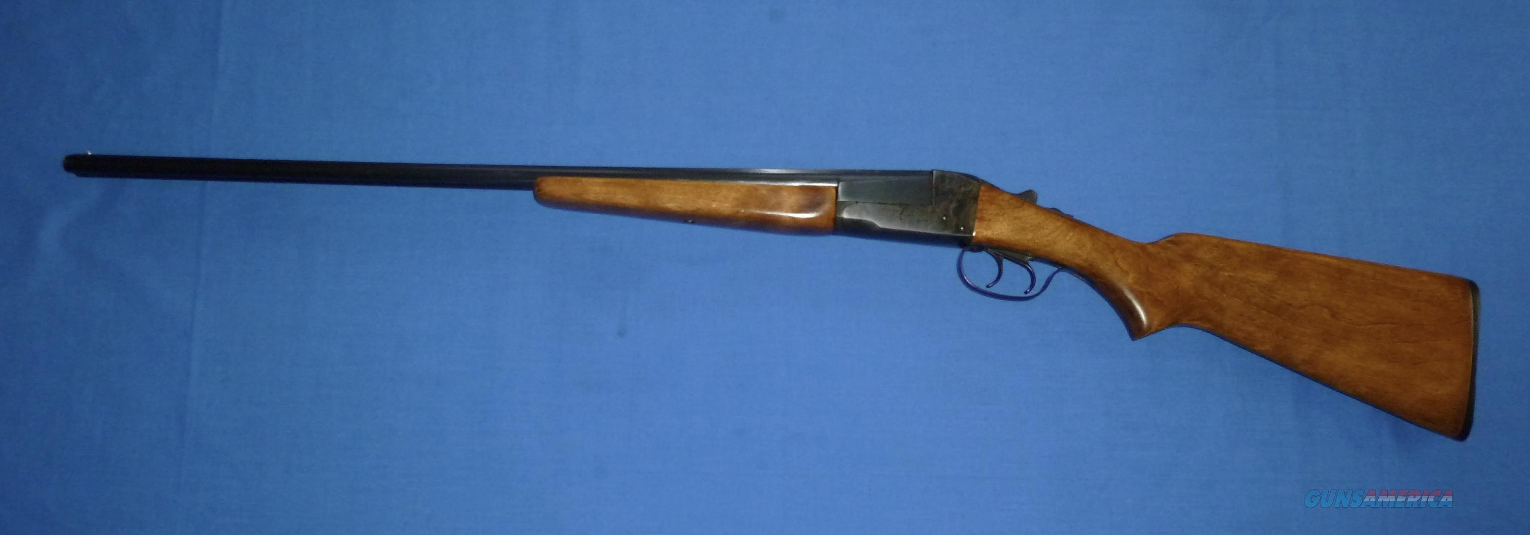 STEVENS 311A 410 GAUGE DOUBLE BARREL SHOTGUN