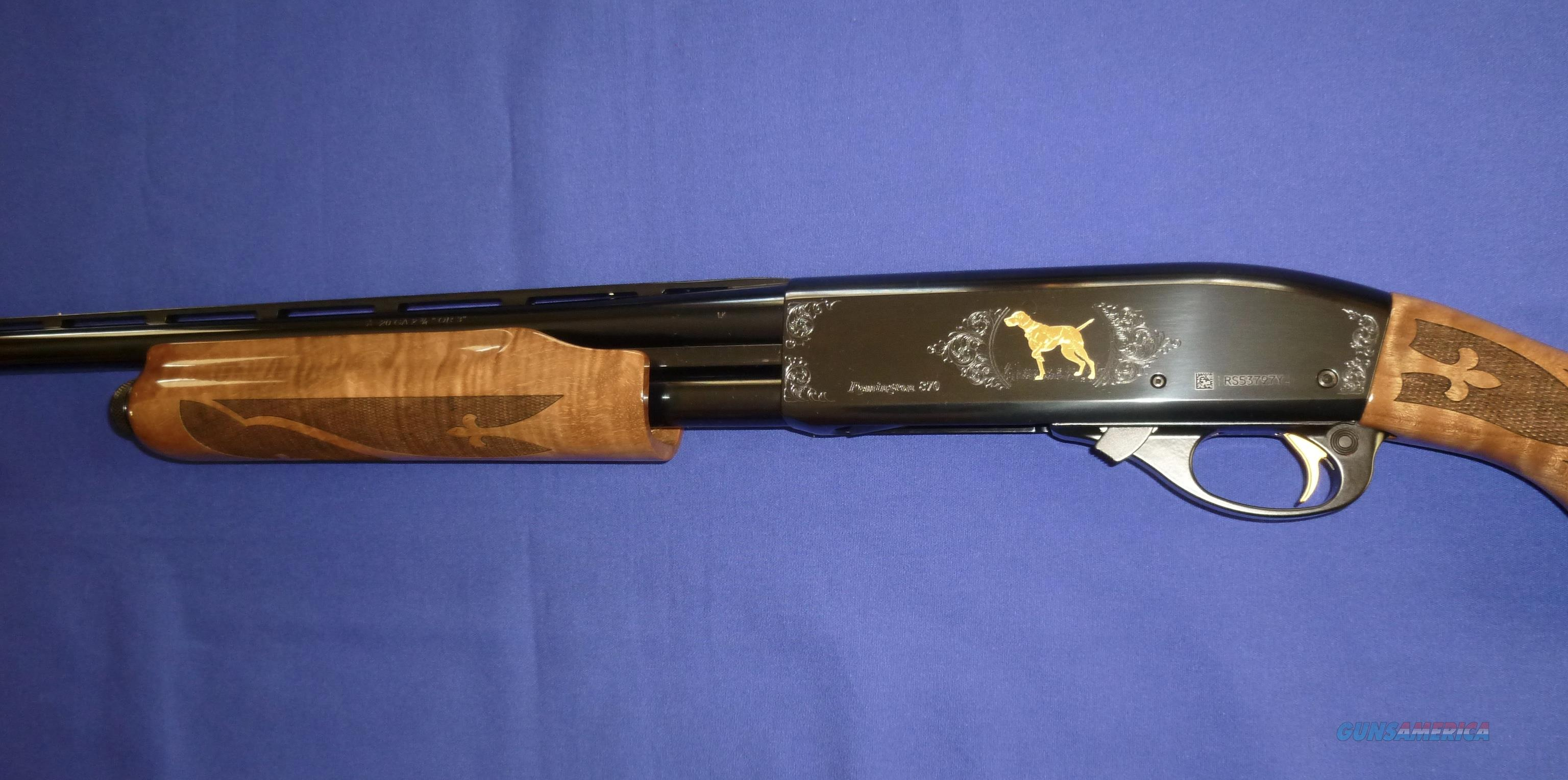 Remington 870 wingmaster american classic 20 gauge pump for Classic american