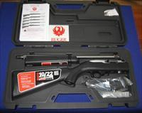 Ruger 10-22 Takedown Stainless Semi-Auto Rifle w/Hard Case and 25 Round Magazine TALO Distr.