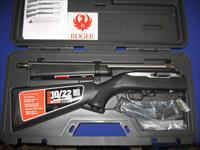 Ruger 50Th Anniversary Model 10/22 Takedown Stainless Semi-Auto Rifle with Fitted Hard Case and 25 Round Magazine, TALO Distributors.