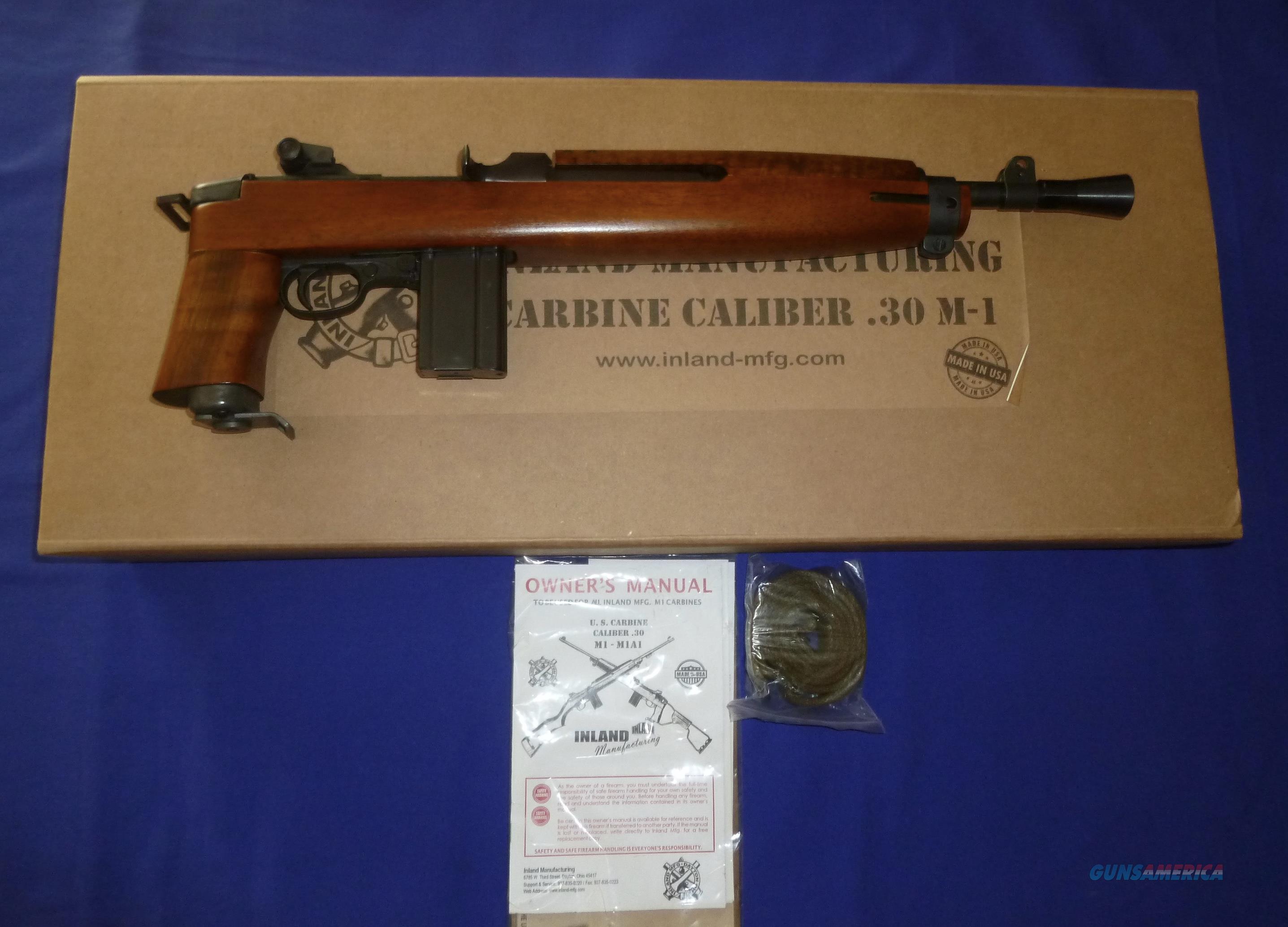 SALE PRICED! INLAND MFG M1 CARBINE PISTOL (THE ADVISOR)  30 CARBINE CALIBER