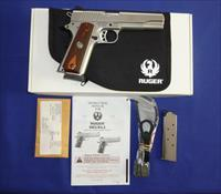 Ruger SR1911 45ACP Stainless Steel Pistol