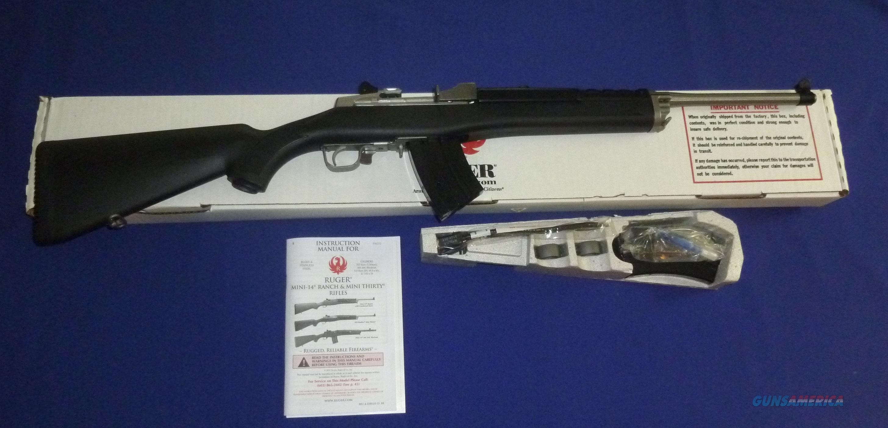 clearance priced ruger mini 30 20 semi auto s for sale rh gunsamerica com ruger mini 30 manual instax mini 30 manual