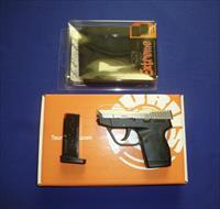 TAURUS PT 738 TCP STAINLESS STEEL 380ACP PISTOL W/BULLDOG CONCEAL CARRY CELL PHONE HOLSTER AND 2 MAGS NEW!