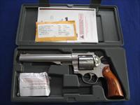Ruger Redhawk 44 Magnum Double Action Stainless Steel Revolver
