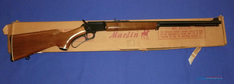 Marlin Original Golden 39A 22 Caliber Lever Action Rifle w/Box