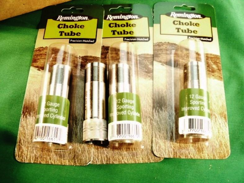 Remington Factory Rem-Choke Tubes  718 Improved Cylinder Extended Stainless  19166 Pro-Bore type New Old Stock Buy 3 Ships Free!