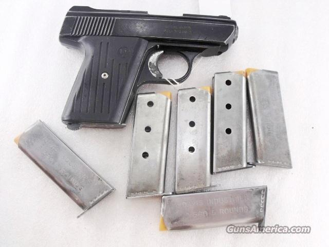Davis Industries P380 Factory 5 Shot Magazines Bryco  380 ACP XMP380OS  Unissued Old Stock 380 Automatic