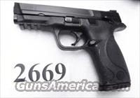 S&W 9mm M&P 9 Lever Safety Variant 17 + 1 Unissued Excellent in Box 1 Magazine 3 Dot Sights Smith & Wesson MP9 SKU206301