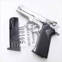 Smith & Wesson 5906 Magazines Mec-Gar 10 round New Blue S&W models 59 459 659 5903 5906 5946 Star 28 30 SW5910B Kel-Tec SUB 2000