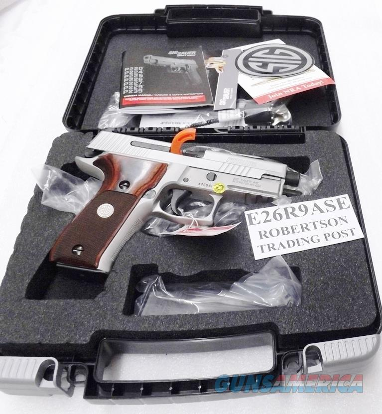 Sig Sauer 9mm P226 Stainless Elite New Talo Spe... For Sale
