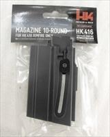3 HK416 .22 LR Factory 10 Shot Magazines H&K 416 Walther Umarex $23 per on 3 or more 577610