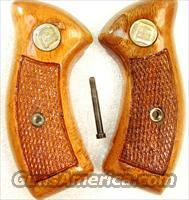 Grips Charter Arms Factory Goncalo 1970s Excellent Refinish Undercover Bulldog Pathfinder Undercoverette
