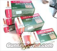 Ammo: 7.62x25 Tokarev S&B Czech 50 Round Boxes 85 grain FMC 32 Tokarev 762 Ammunition Cartridges $24.90 per Box on 5 Box Lots