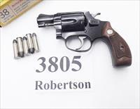 Smith & Wesson .38 Special model 37 Chief's Special Airweight Blue 2 inch Snub 1961 Production Sluggish Timing 38 Spl S&W 101602  Flat Latch Diamond Grips C&R CA OK
