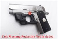 Lasermax Colt Laser for Government 380, Mustang Pocketlite Sig 238 .380 Pistols Trigger Guard Mount NIB 650 nm Lithium Battery W2079 NIB Pulled from Colt O6891 Promo